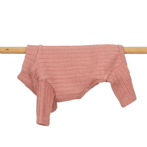 Cable Knit all-in-one Indi Pink