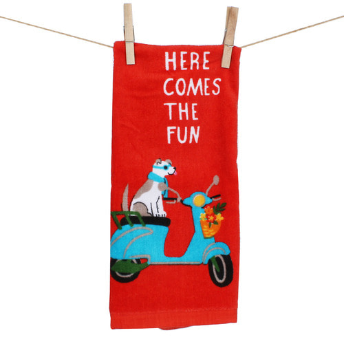 The Scooter Doggy Towel
